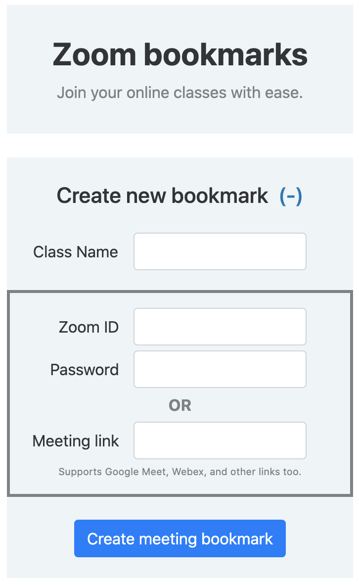 Both components - title & new bookmark